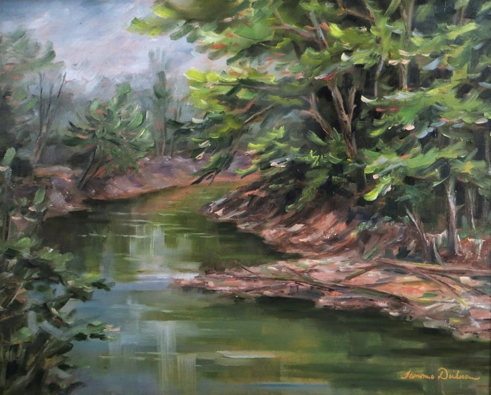 """Tranquil Waters"" original fine art by Tammie Dickerson"