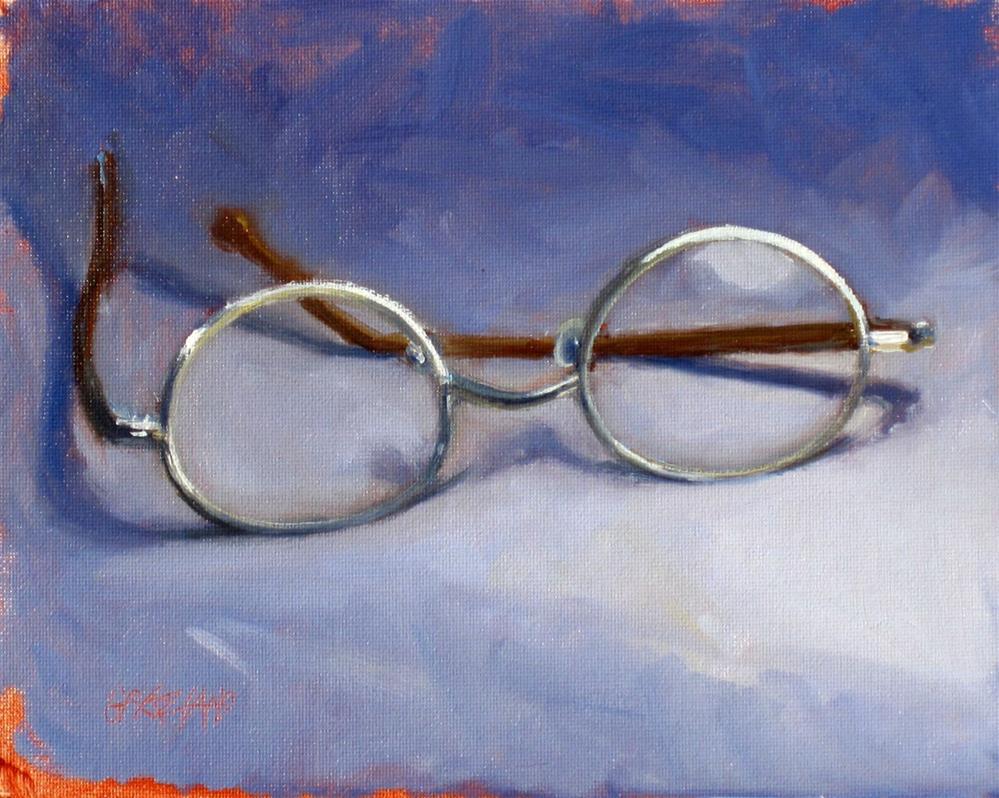 """four eyes"" original fine art by Dan Graziano"