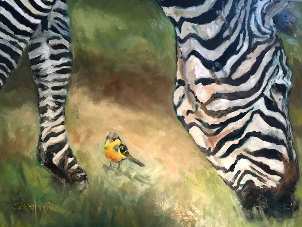 """""""770 A Bird's Eye View"""" original fine art by Diane Campion"""