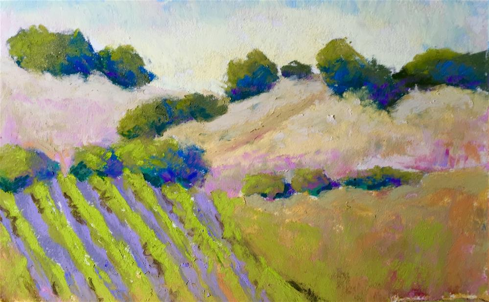 """California Dreaming 2"" original fine art by Sandi Miller"