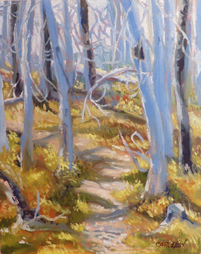"""""""After the Burn"""" original fine art by Carolynn Doan"""