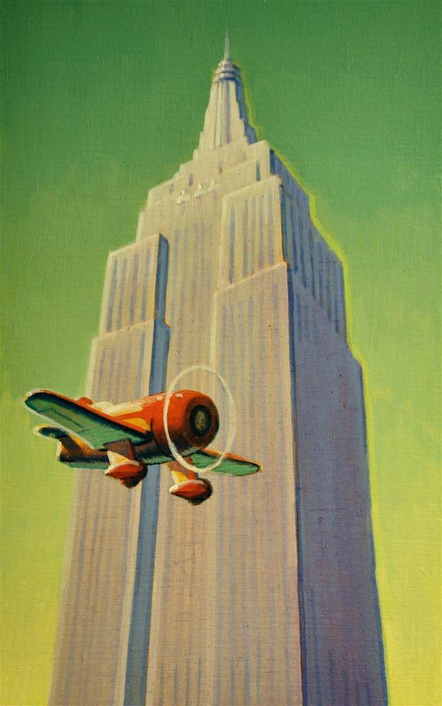 """Empire State"" original fine art by Robert LaDuke"
