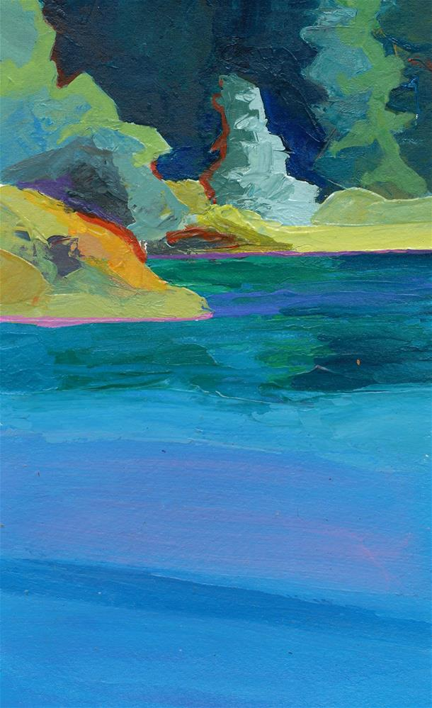 """Colors of Clearlake"" original fine art by Mark Allison"