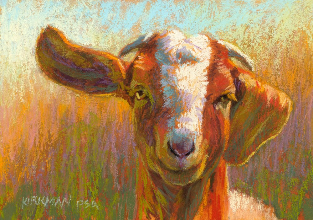 """Howdy!"" original fine art by Rita Kirkman"