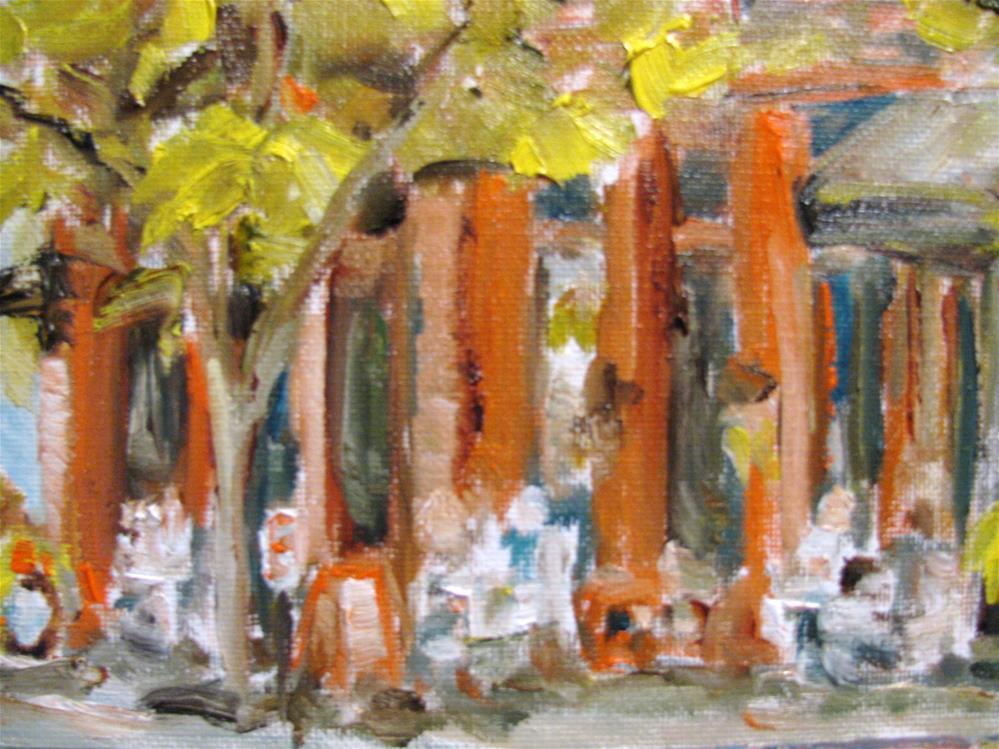"""Fourth and Main"" original fine art by Susan Elizabeth Jones"