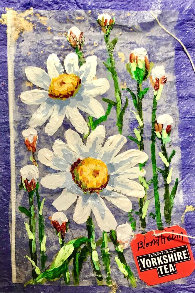 """""""Daisies"""" original fine art by Linda Blondheim"""
