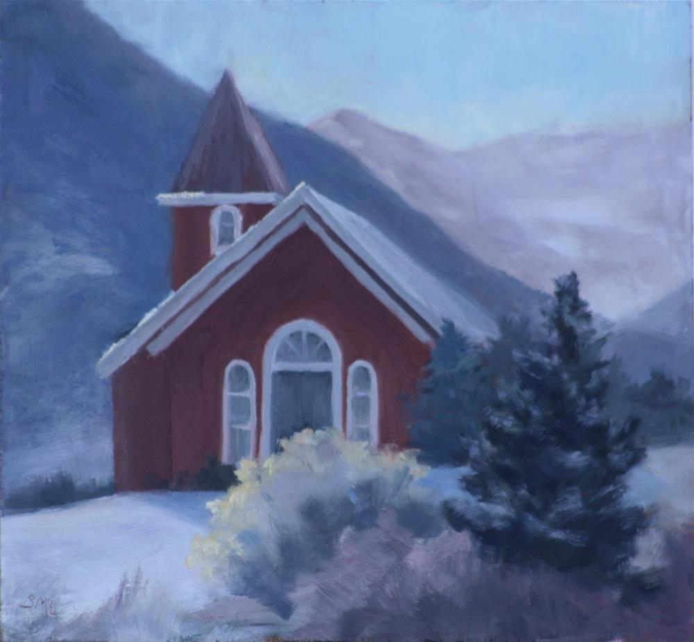 """Chapel C470"" original fine art by Sheila Marie"