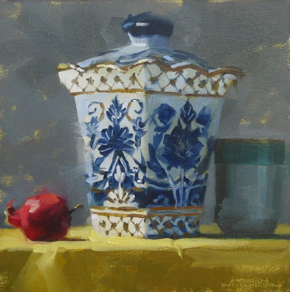 """Ginger Jar"" original fine art by Karen Werner"