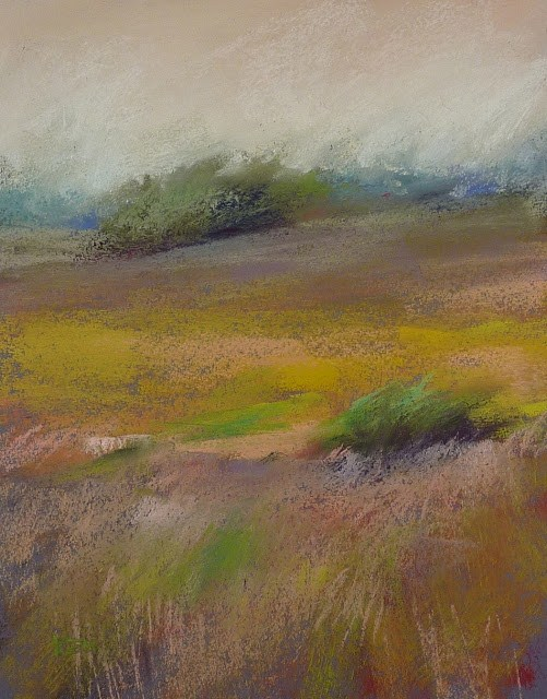 """Pastel FAQ: Choosing Paper Color for a Painting"" original fine art by Karen Margulis"