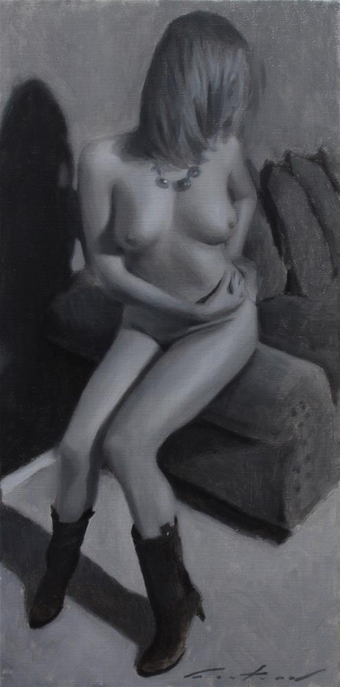 """Nude Study"" original fine art by Phil Couture"