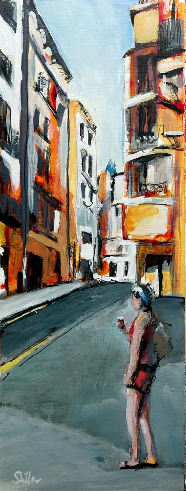 """2399 Palma Streetview 7"" original fine art by Dietmar Stiller"