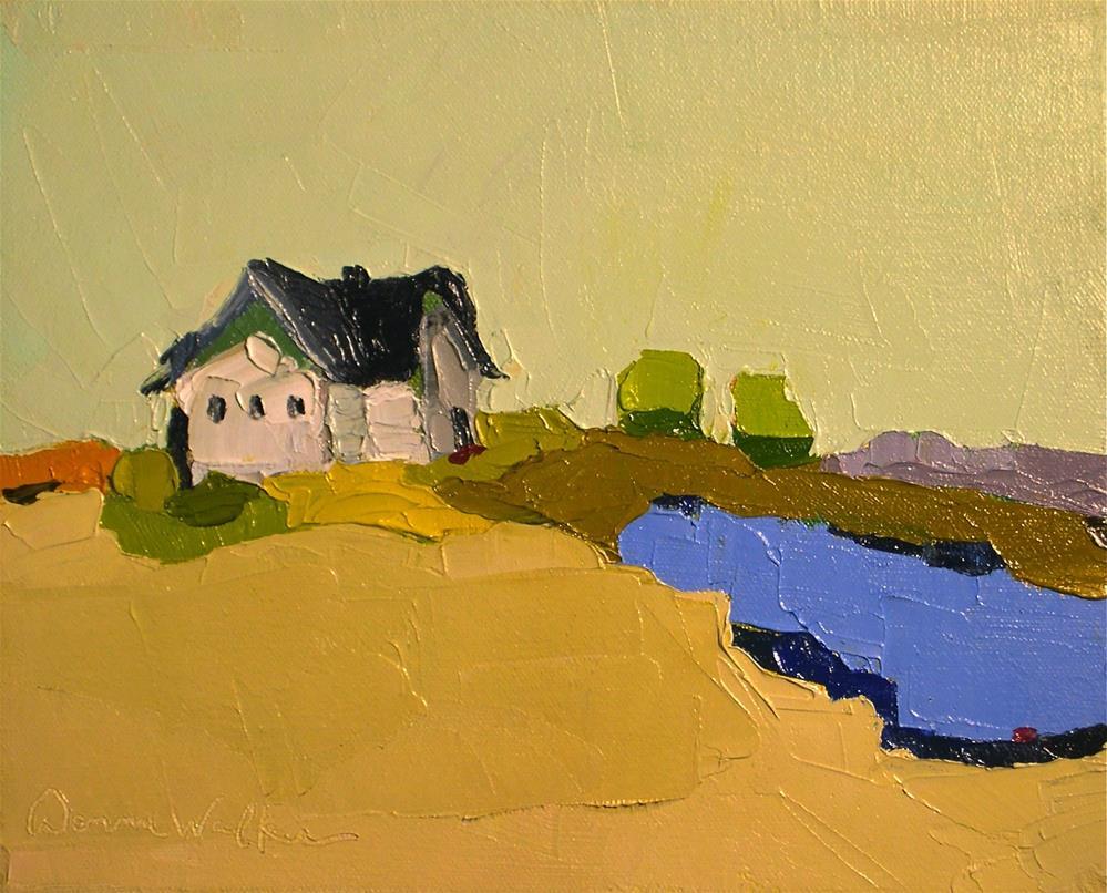 """A Quiet Place"" original fine art by Donna Walker"
