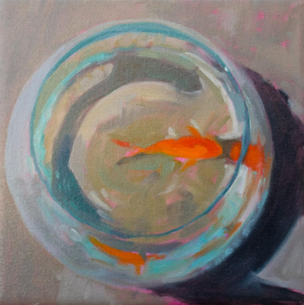 """reflection"" original fine art by Theresa Heidig Rooney"
