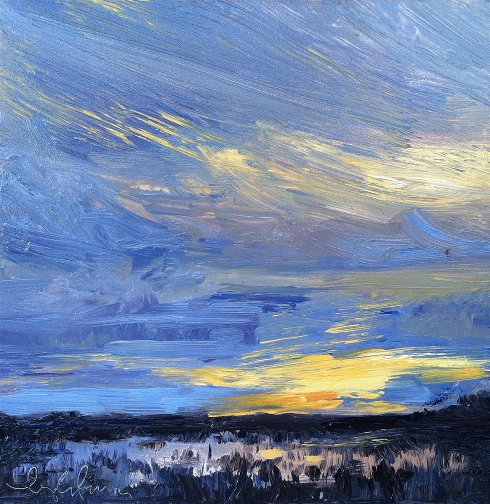 """Evening Mood"" original fine art by kay keyes farrar"