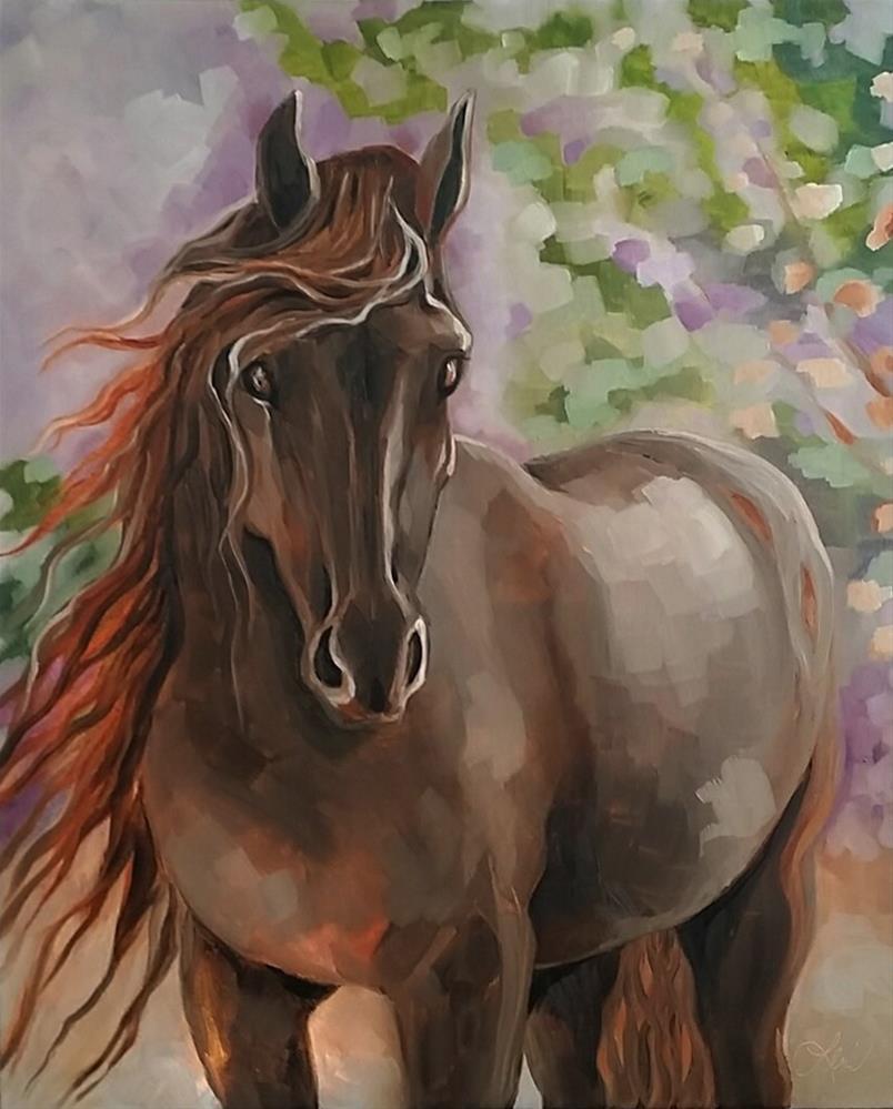 """Friesian Summer"" original fine art by Leni Tarleton"