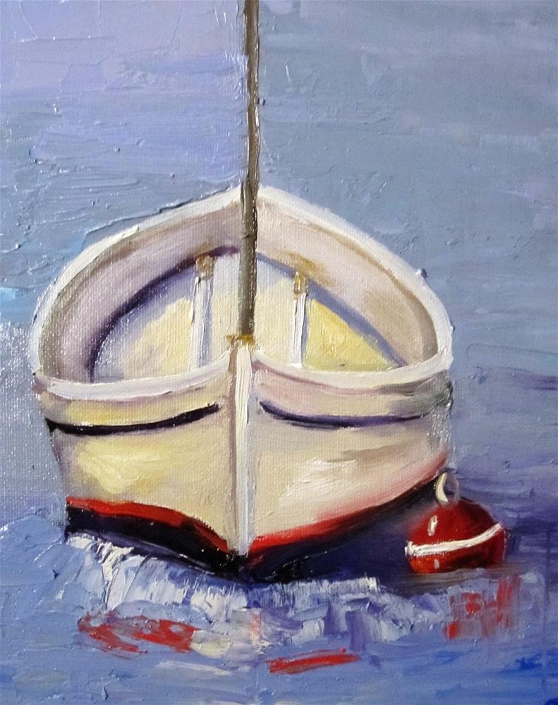 """Boat"" original fine art by Delilah Smith"