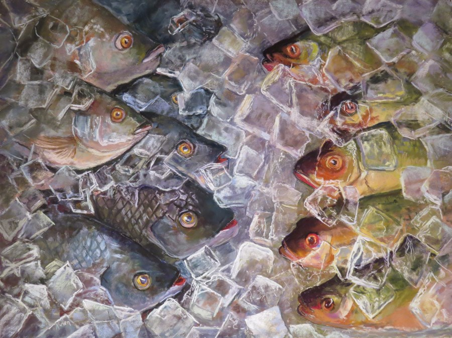 """Sea Change"" original fine art by karen israel"