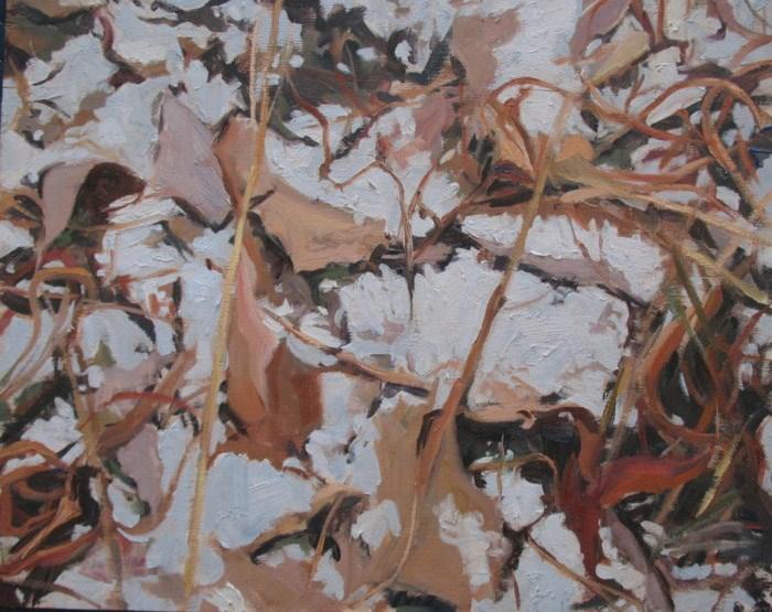 """ Foliage Patterns"" original fine art by Michael McConnell"