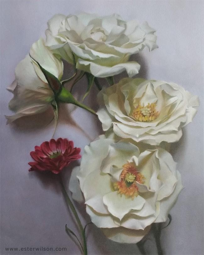 """Sentiment"" original fine art by Ester Wilson"
