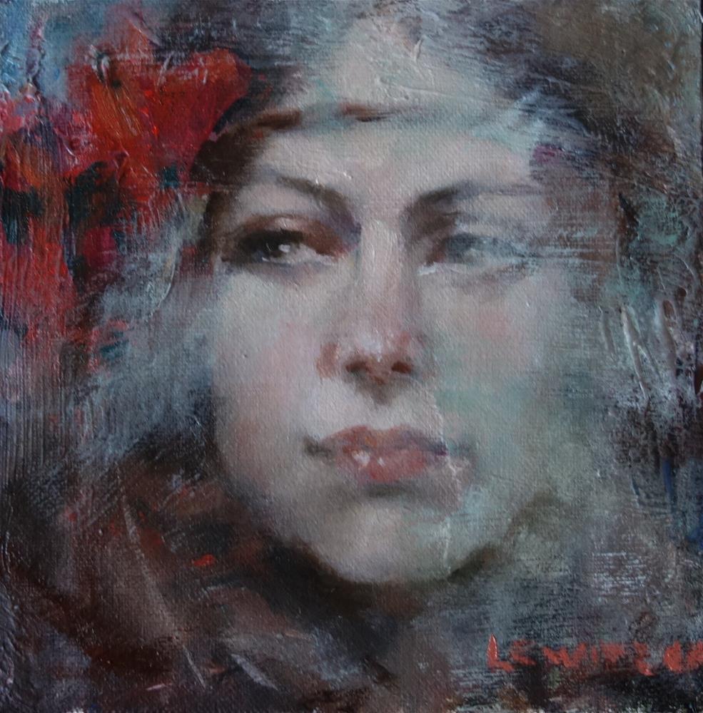 """""""Smokey"""" original fine art by Lorraine Lewitzka"""