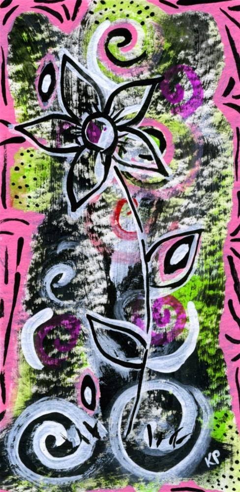 """""""Laughter"""" original fine art by Kali Parsons"""