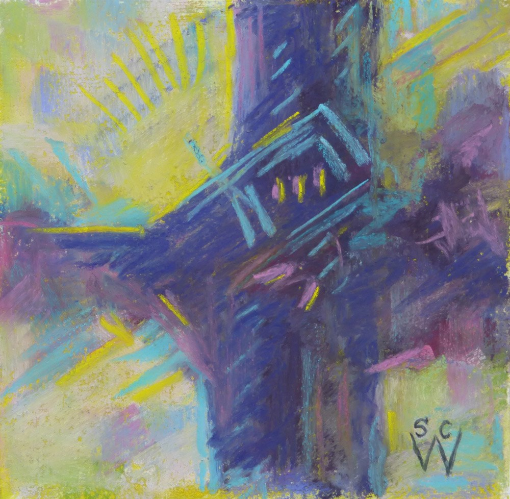 """Daybreak"" original fine art by Susan Woodward"