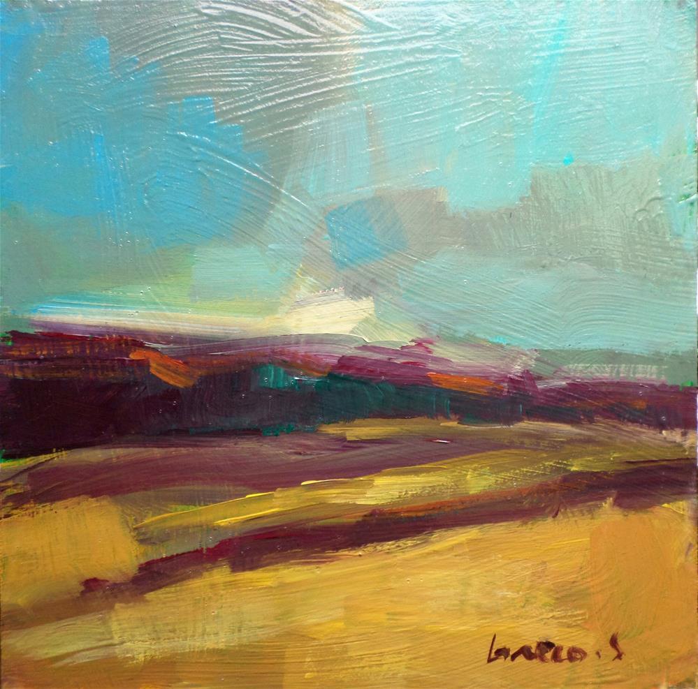 """Return to fields"" original fine art by salvatore greco"