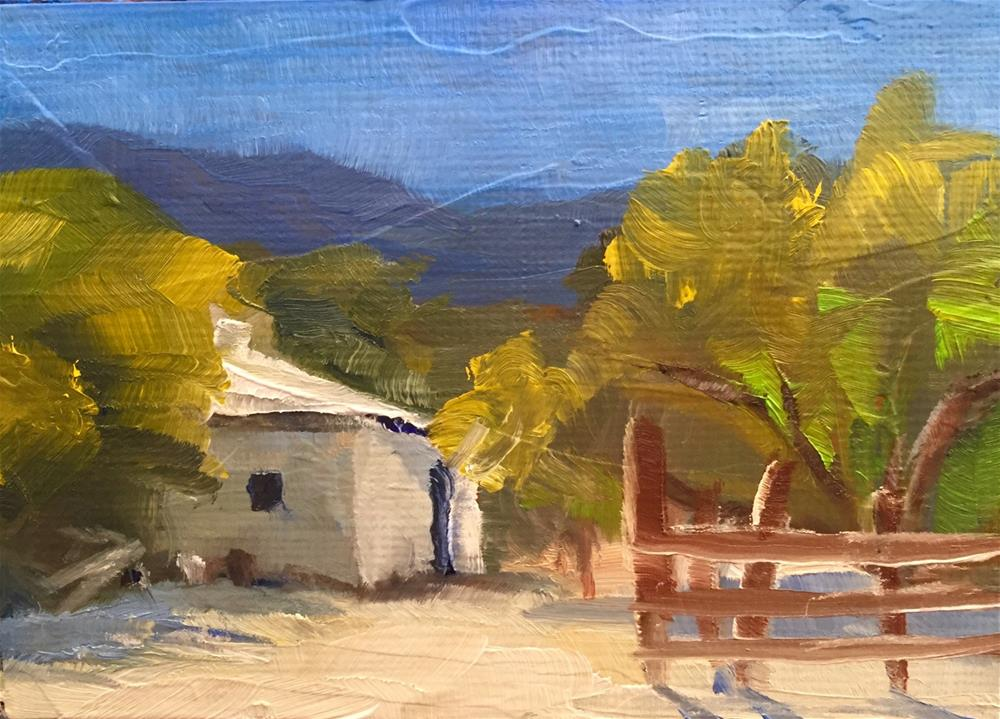 """Farm House"" original fine art by Gary Bruton"