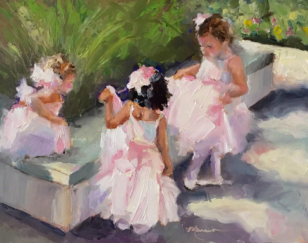 """""""Let's Dance"""" original fine art by Marcia Hodges"""