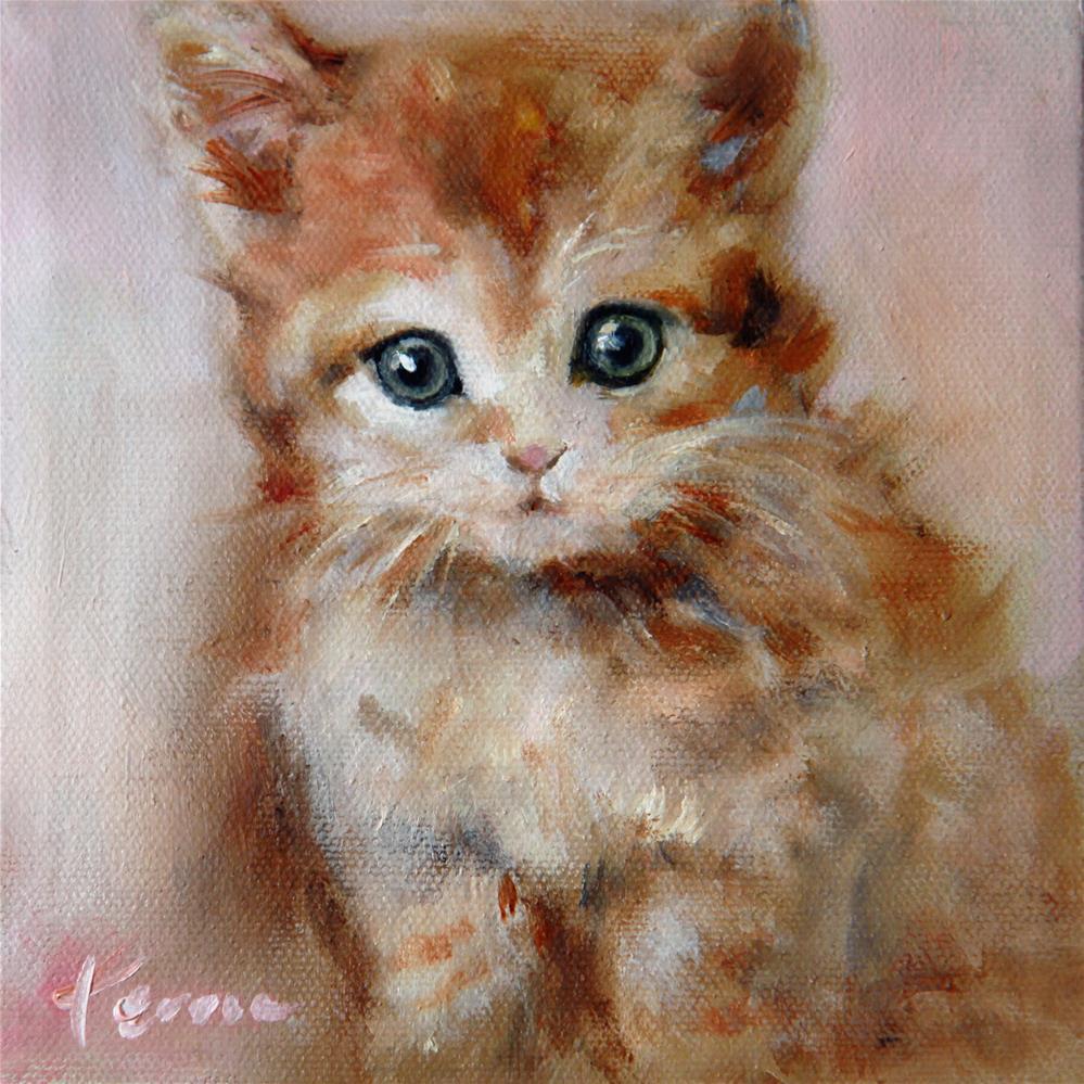 """""""Cat"""" original fine art by Teresa Yoo"""