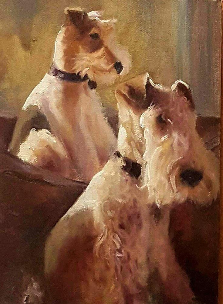 """""""LAZY AFTERNOON"""" original fine art by Ronel Alberts"""