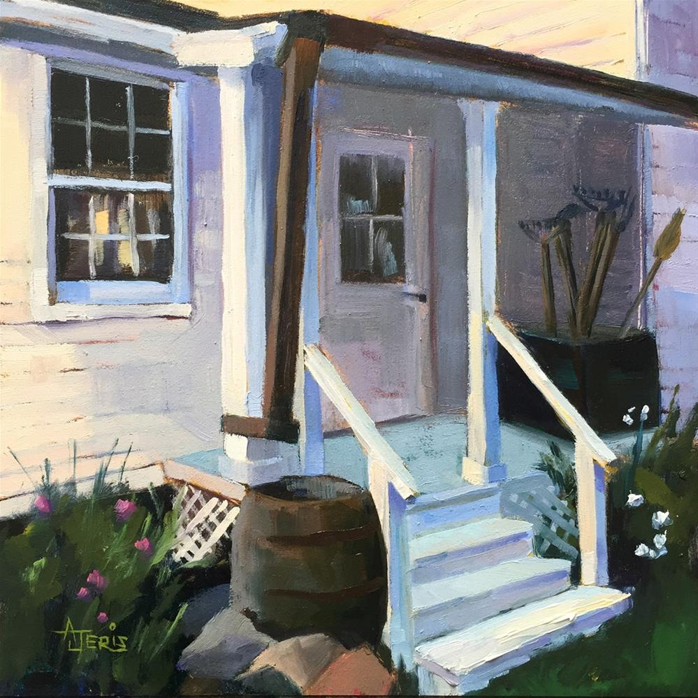 """Back Porch"" original fine art by Andrea Jeris"