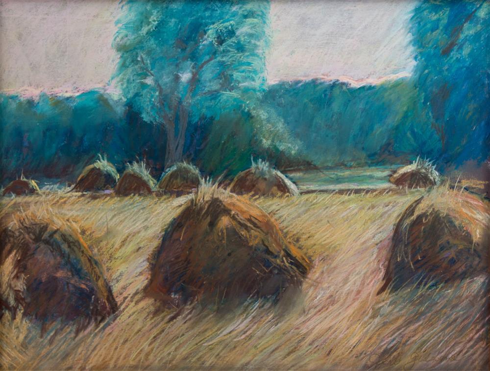 """Hay Day"" original fine art by Jeri Giddens"