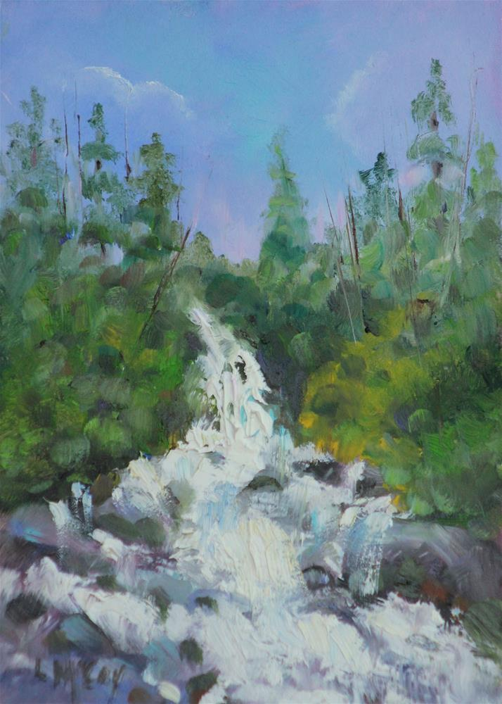 """Colorado River ll"" original fine art by Linda McCoy"