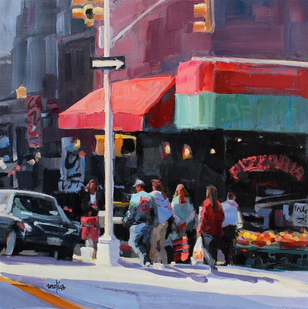 """Gallery District NYC"" original fine art by Patti Mollica"