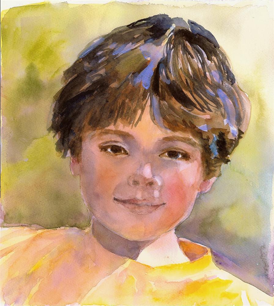 """""""Aiden"""" original fine art by Reveille Kennedy"""