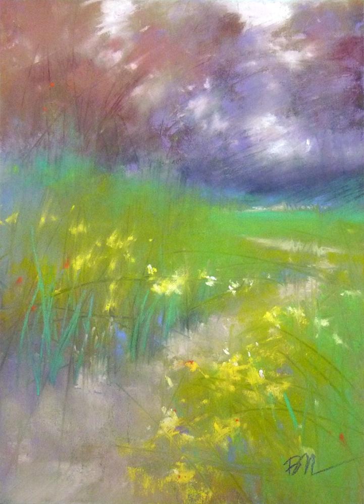 """Spring!"" original fine art by Barbara Benedetti Newton"