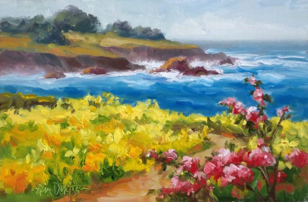 """""""Spring is in the Air"""" original fine art by Erin Dertner"""