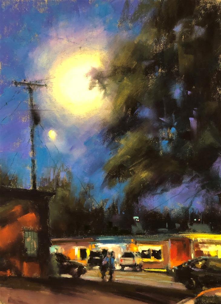 """""""Moon Glow"""" original fine art by Marla Baggetta"""
