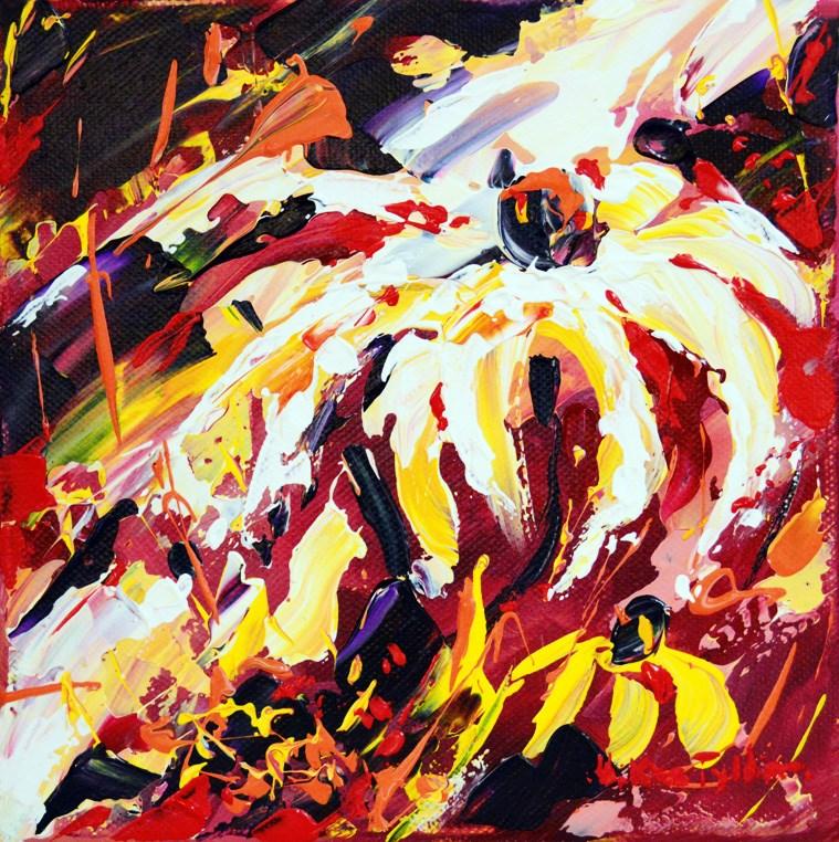 """""""Autumn flower"""" original fine art by Mikko Tyllinen"""