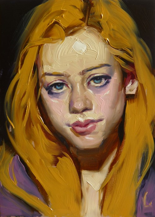 """Buttered Up"" original fine art by John Larriva"