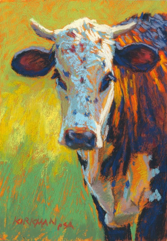 """Calypso"" original fine art by Rita Kirkman"
