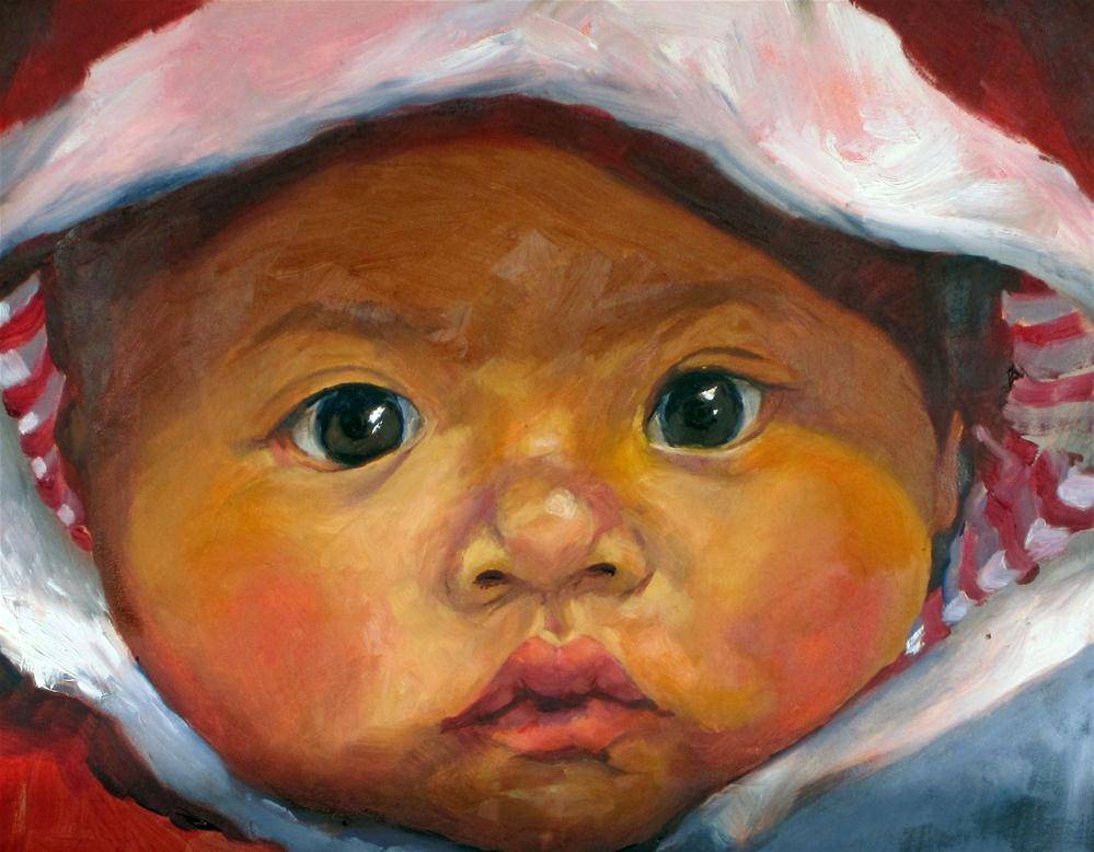 """Precious"" original fine art by Sharman Owings"