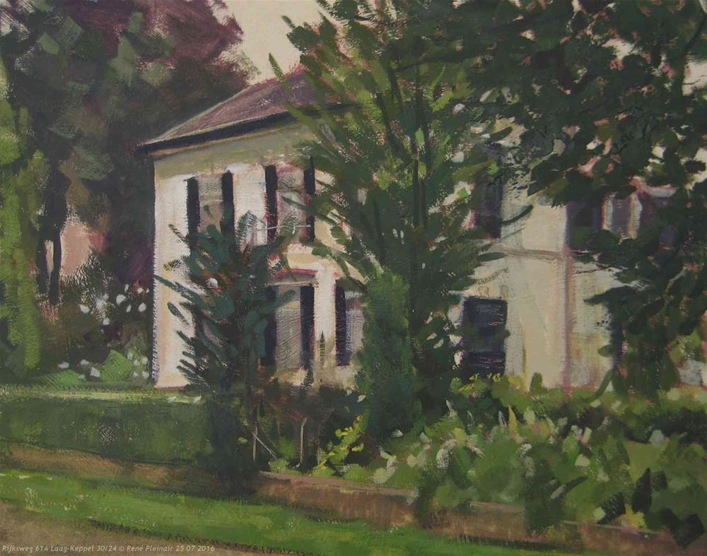 """Rijksweg 61A Laag Keppel, The Netherlands"" original fine art by René PleinAir"