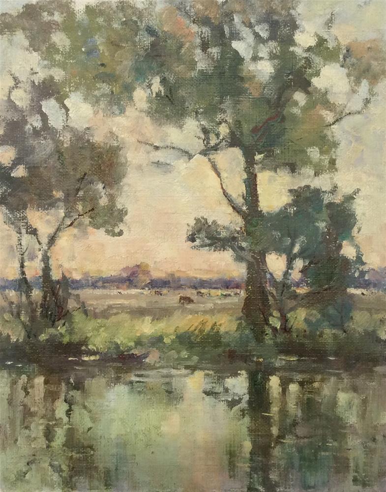 """Summer Reflections"" original fine art by John Shave"