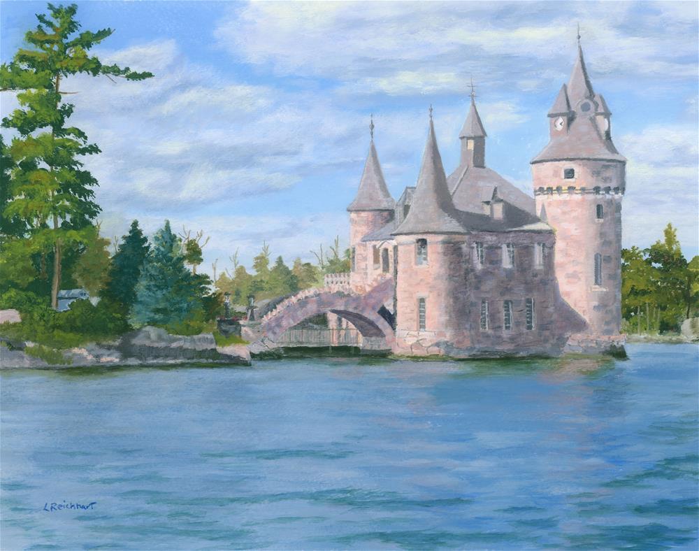 """Boldt's Power House"" original fine art by Lynne Reichhart"