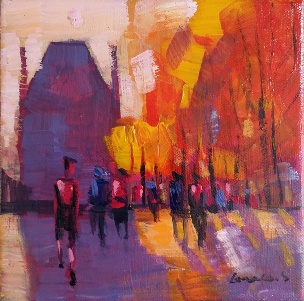 """Paris #1"" original fine art by salvatore greco"
