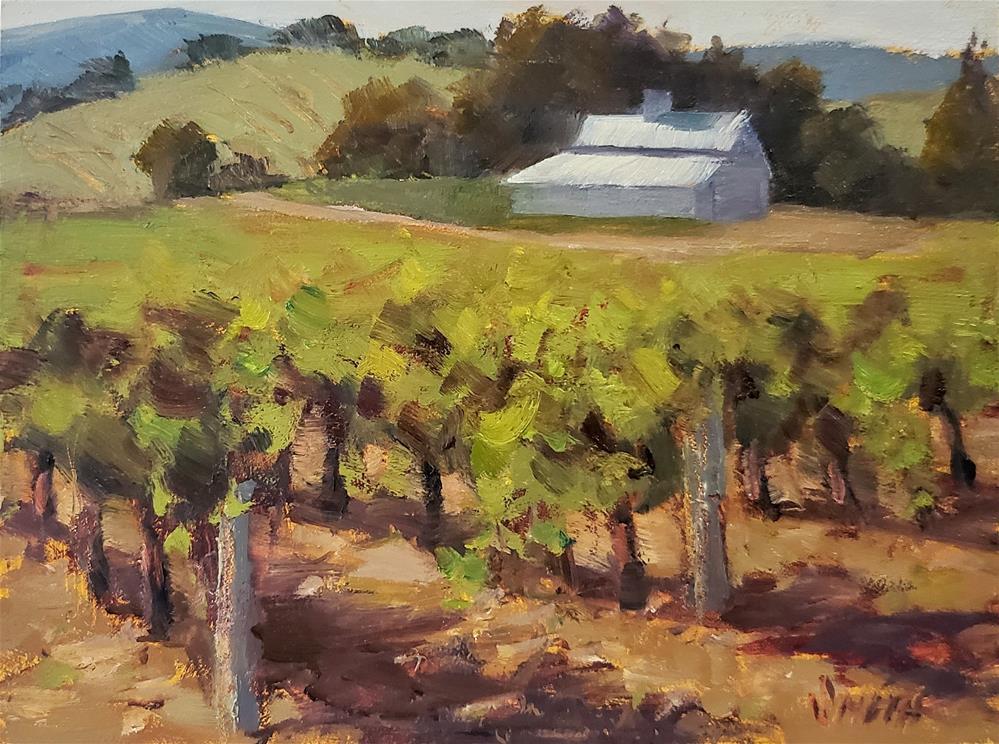 """""""Summer Vines"""" original fine art by Barbie Smith"""