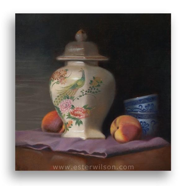 """Oriental Spice"" original fine art by Ester Wilson"
