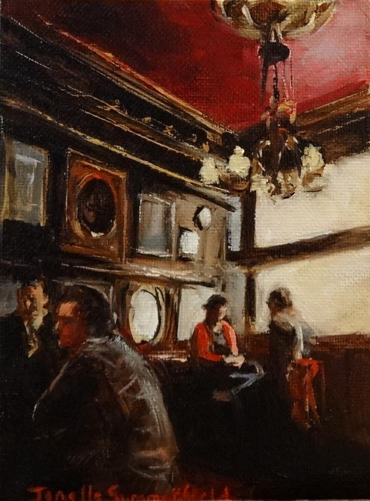 """The Long Hall - Study"" original fine art by Jonelle Summerfield"
